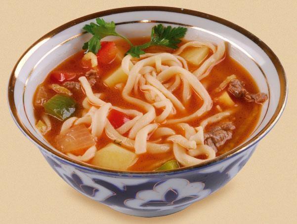 Узбекский суп шурпа